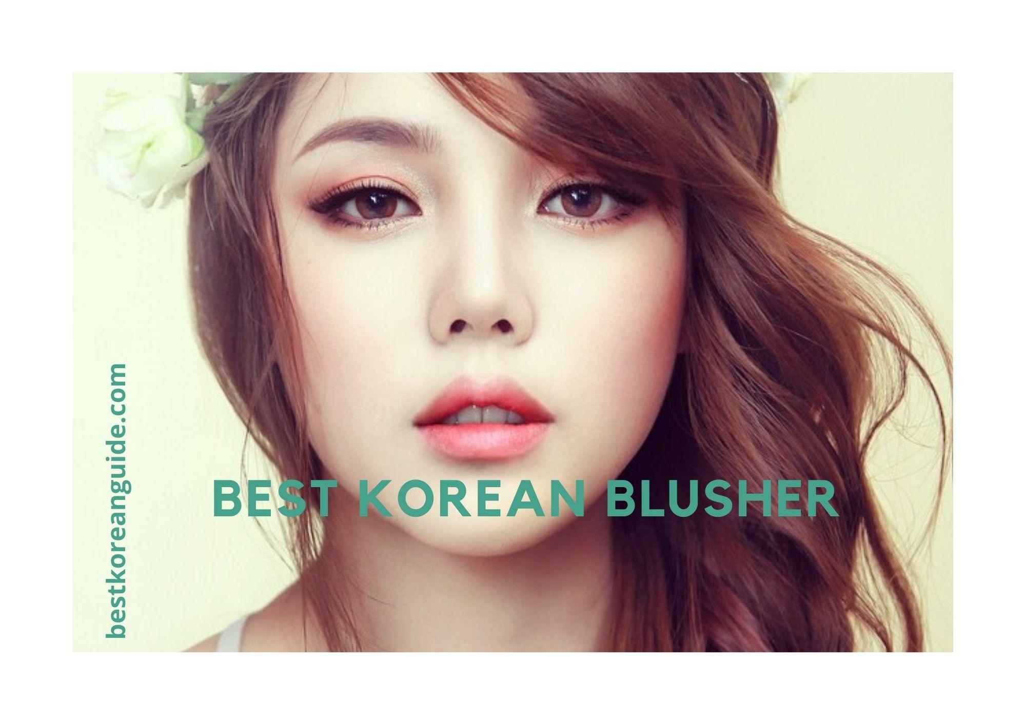 Best korean blusher