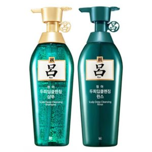 Ryeo New Chung ah Mo Shampoo for oily Hair & Conditioner