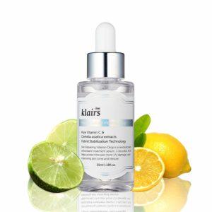 KLAIRS Freshly Juiced Vitamin Drop, vitamin C serum Review