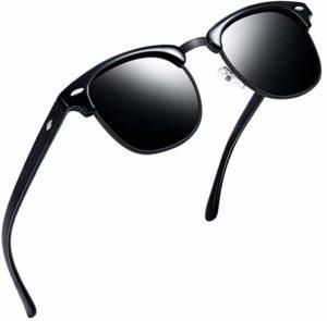 Joopin Semi Rimless Polarized Sunglasses Women Men Retro Brand Sun Glasses reviews
