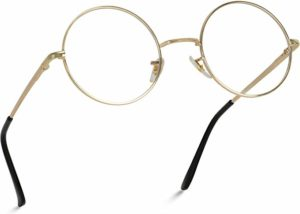 Round Clear Metal Frame Glasses reviews