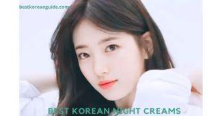 Best korean Night Creams