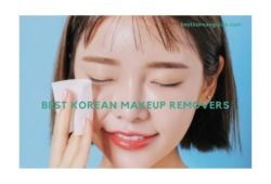 Best korean makeup removers