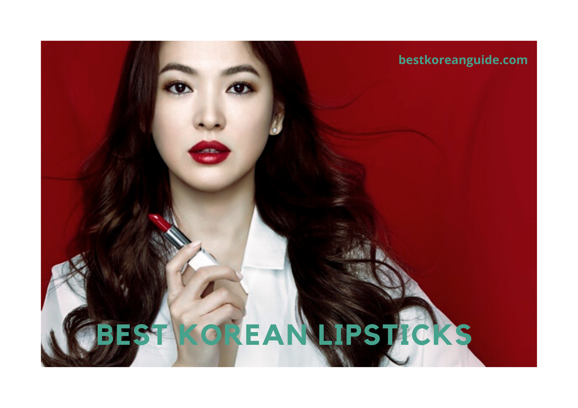 BEST KOREAN LIPSTICK