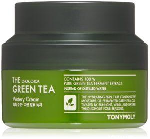 Tonymoly The Chok Chok Green Tea Watery Cream reviews