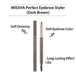 Missha Perfect Eyebrow Styler Dark Brown