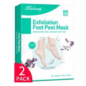 mixbeauty foot mask reviews