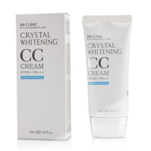 3W CLINIC Crystal Whitening CC Cream reviews