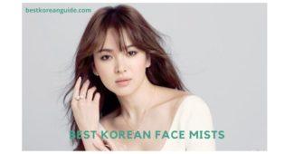 Best korean Face Mists