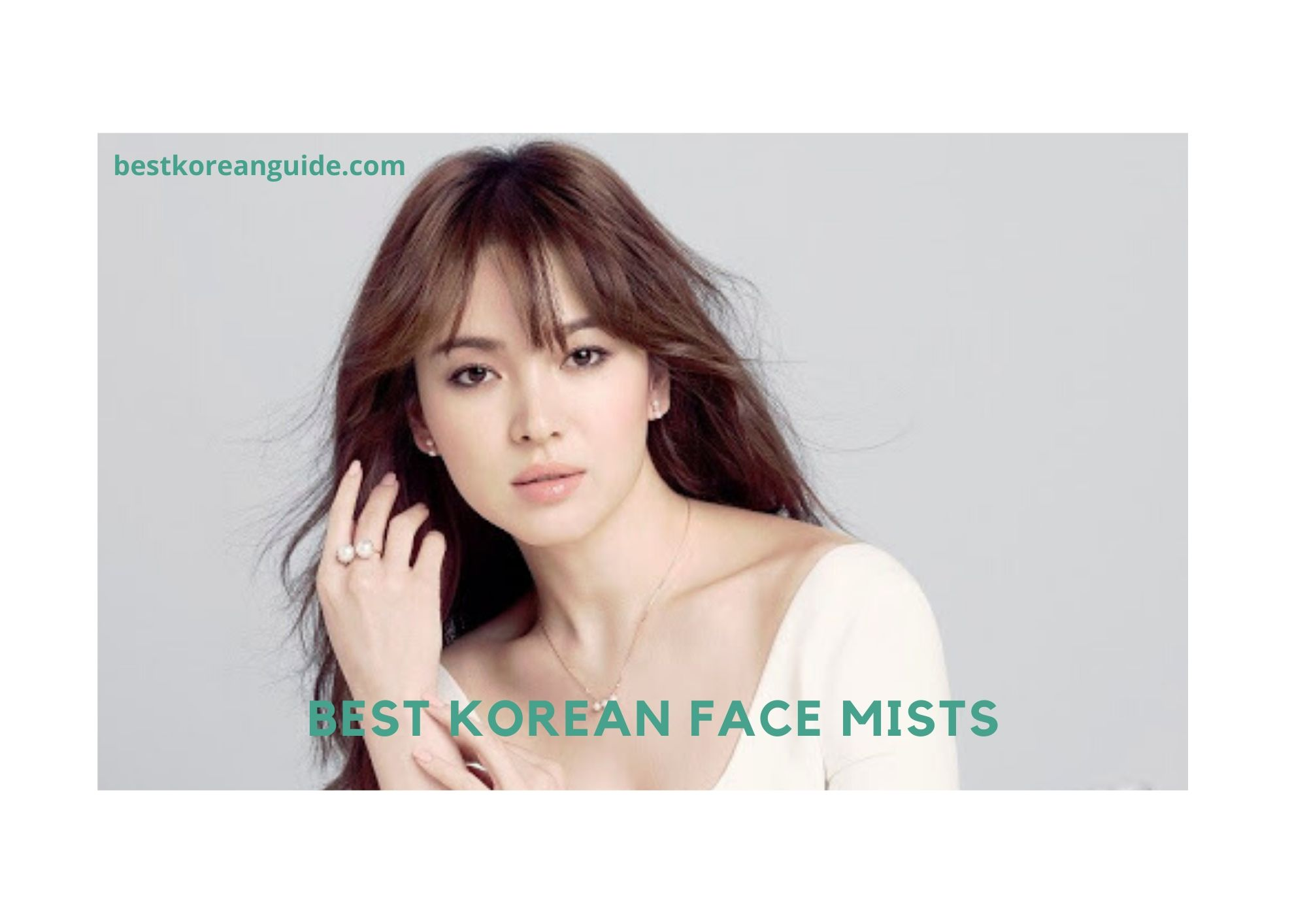 Best korean Face Mists