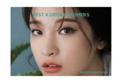 Best korean Primers