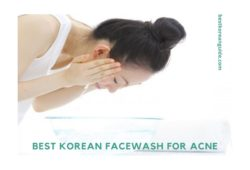 Best Korean facewash for acne