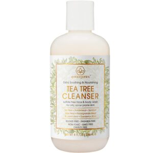 Tea Tree Oil Face Cleanser reviews and user guide