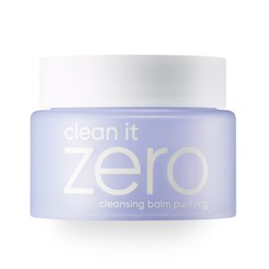 BANILA CO NEW Clean It Zero Purifying Cleansing Balm 3-in-1 Makeup Remover reviews and user guide