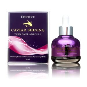 Deoproce Caviar Shining Turn Over Korean Ampoule reviews and user guide