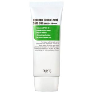 PURITO Centella Green Level Safe Sun SPF50 reviews and user guide