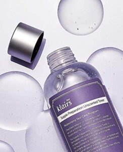 [KLAIRS] Supple Preparation Unscented Toner reviews and user guide