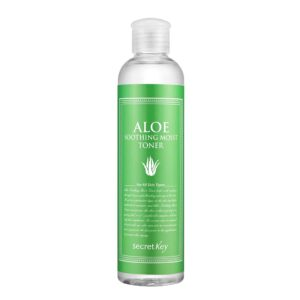[SECRET KEY] Aloe Soothing Moist Toner reviews and user guide