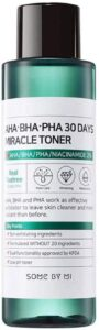 SOME BY MI Aha.Bha.Pha 30Days Miracle Toner reviews and user guide