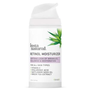 InstaNatural Retinol Moisturizer Anti Aging Night Face Creamreviews