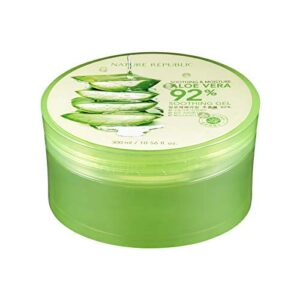 Nature Republic New Soothing Moisture Aloe Vera Gel reviews