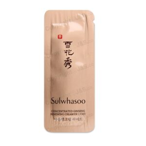 Sulwhasoo NEW Concentrated Ginseng Renewing Cream reviews