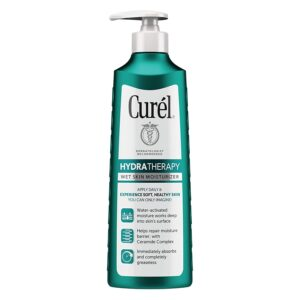 Curél Hydra Therapy in Shower Lotion Wet Skin Moisturizer for Dry or Extra-dry Skin