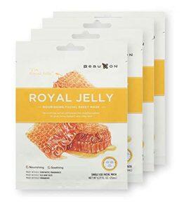 BeauKON Royal Jelly Honey Nourishing Facial Sheet Mask
