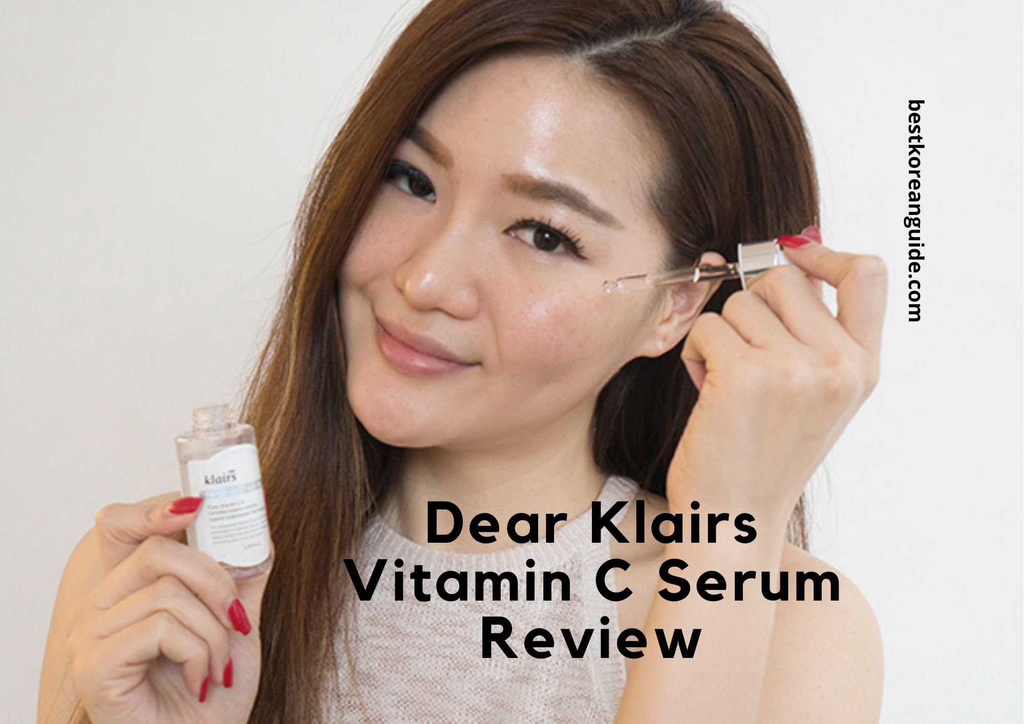 Dear Klairs Vitamin C Serum Review