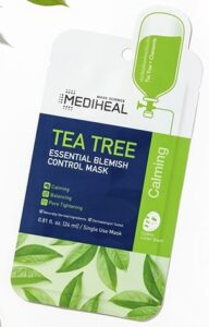 MEDIHEAL Official [Korea's No 1 Sheet Mask] - Tea Tree Essential Blemish Control Mask