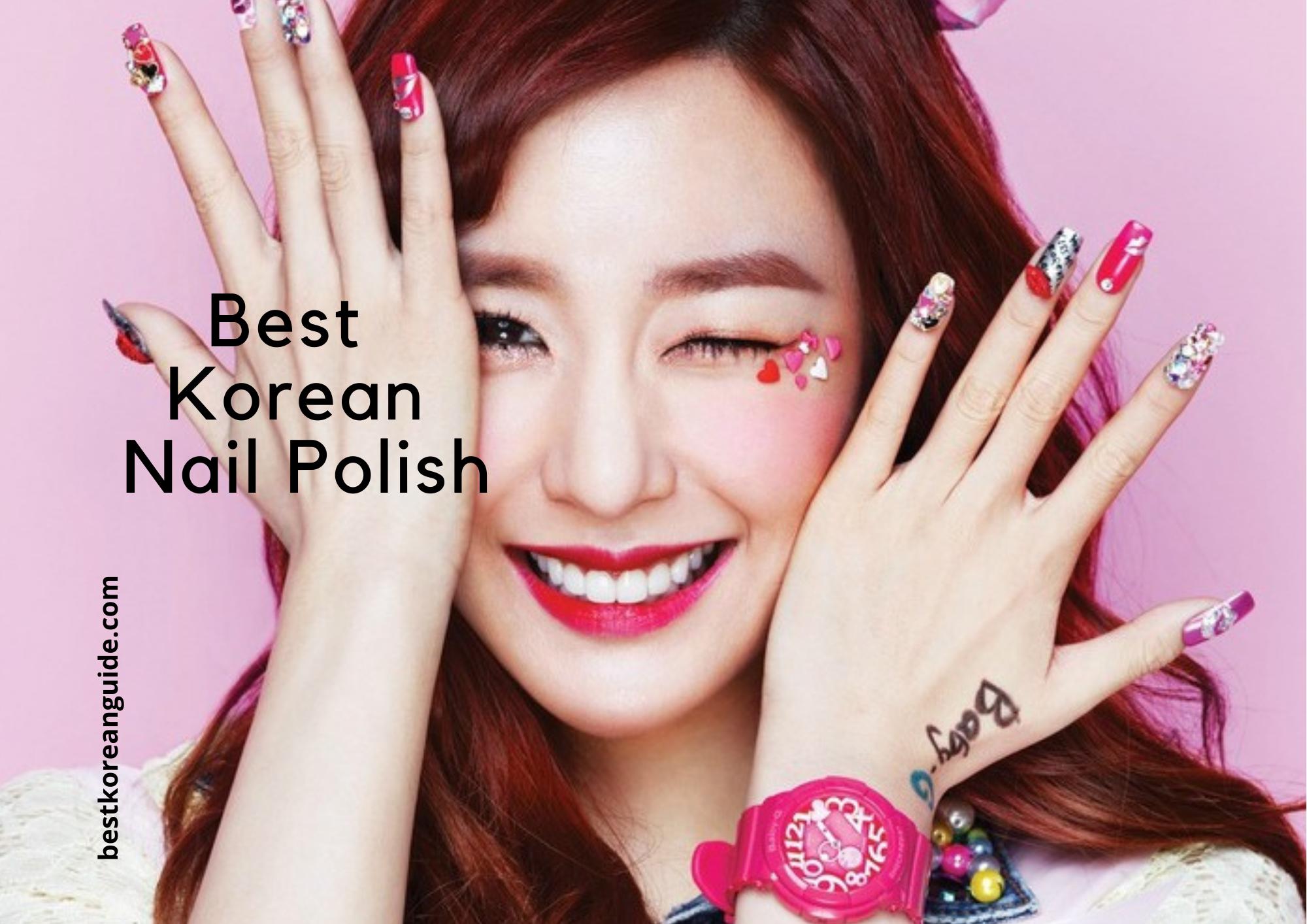 Best Korean Nail Polish