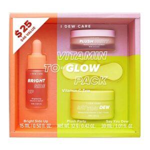 I DEW CARE Vitamin To-Glow Pack Skin Care Set