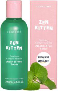 I DEW CARE Zen Kitten | Non-comedogenic Alcohol-Free Toner